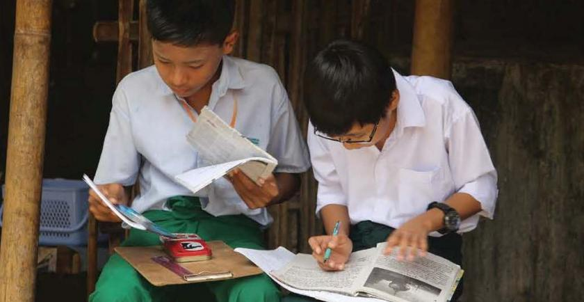 Education myanmar student business today.jpg